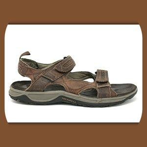 MERRELL Terrapin Bracken Leather Sandals